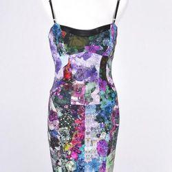 Nicole Miller hyper floral dress $150 (originally priced at $465) at Luxury Garage Sale