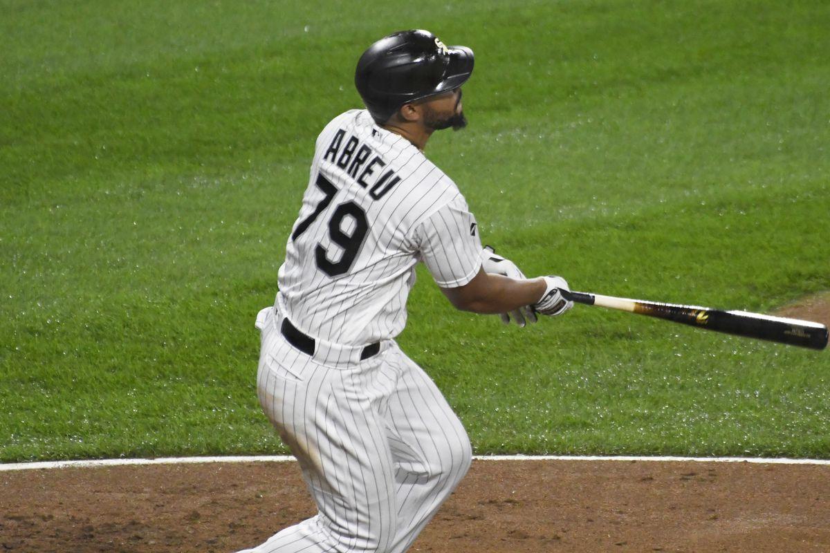 White Sox first baseman Jose Abreu is a finalist for the Hank Aaron Award.