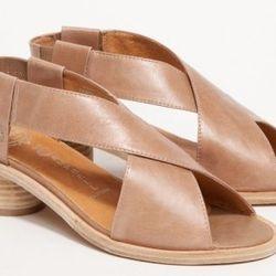 "<b>Jeffrey Campbell</b> Tivoli, <a href=""http://needsupply.com/womens/shoes/tivoli-in-grey.html"">$160</a>"