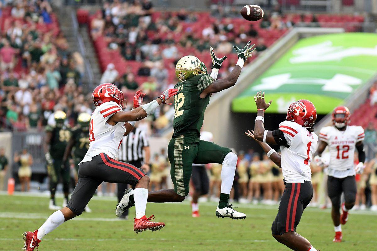 NCAA Football: Houston at South Florida