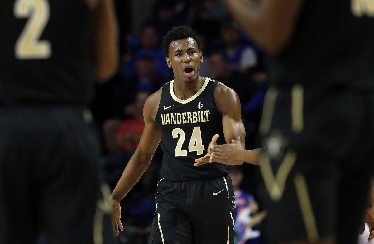 NCAA Basketball: Vanderbilt at Florida