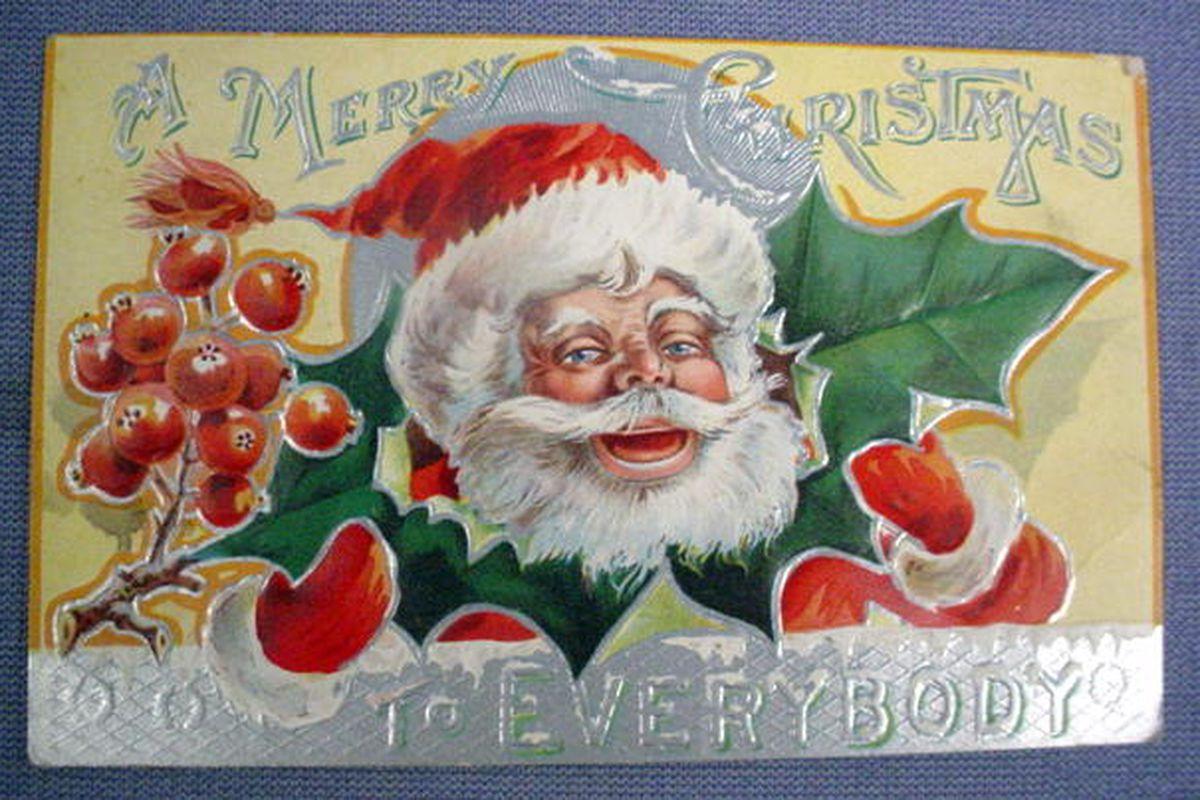 Santa's feelin' preeeeetty good this year.