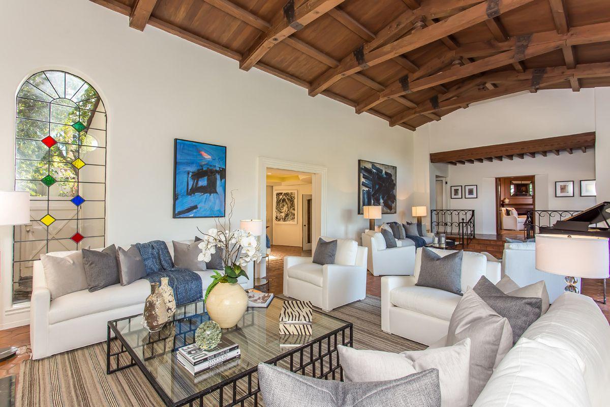 View of living room from doorway