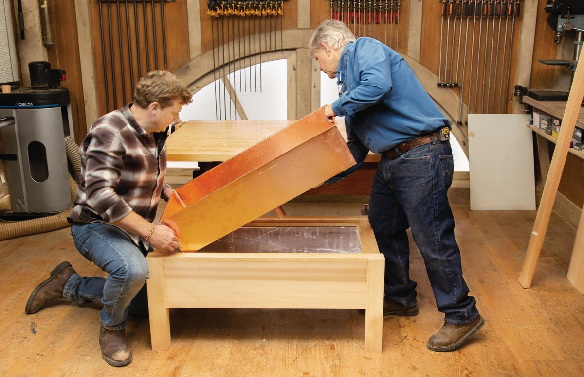 Fall 2021, Build It Cooler Bench, step 9