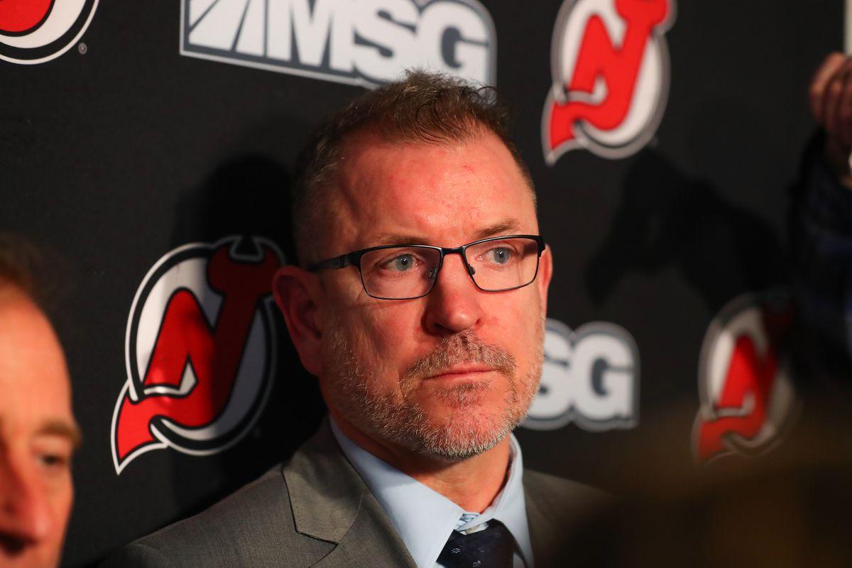 NHL: JAN 12 Lightning at Devils