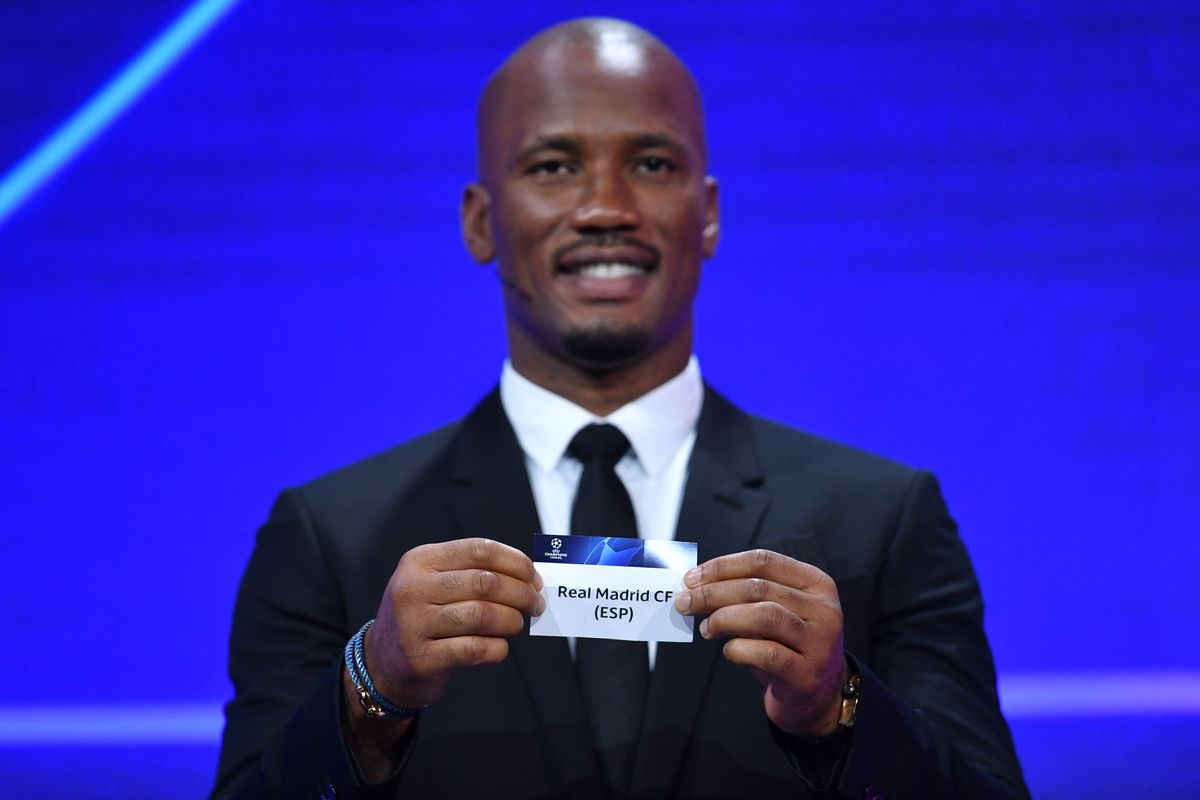 Dider Drogba - UEFA Champions League 2020-21 Group Stage Draw