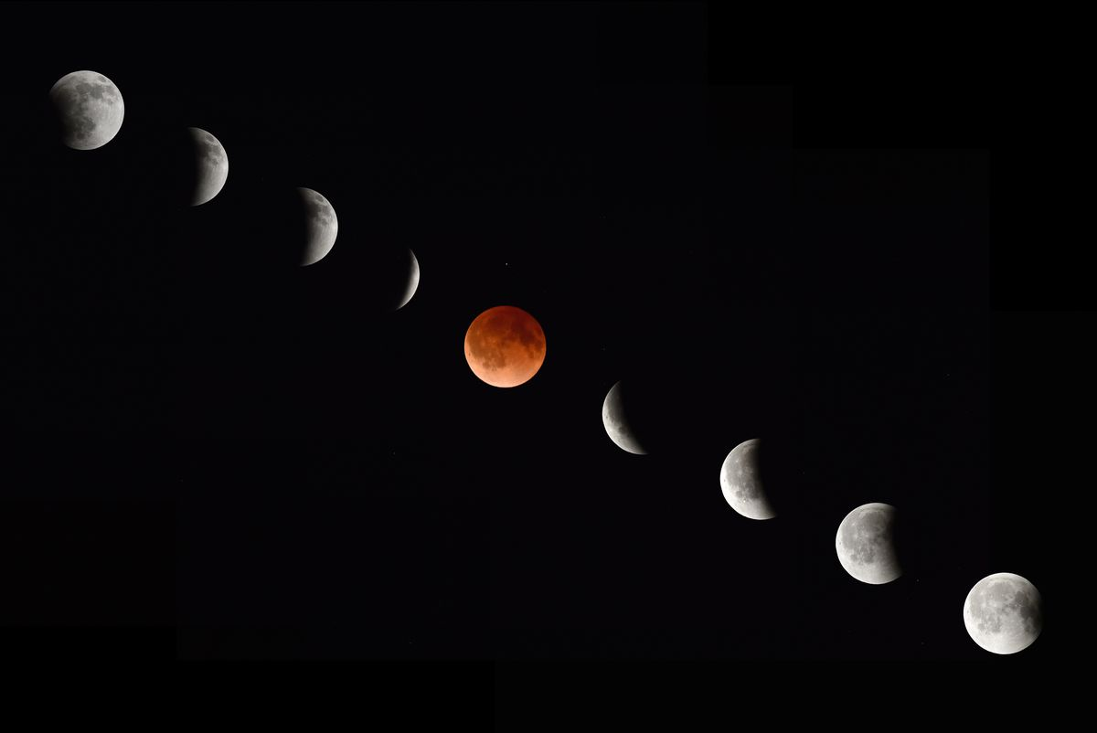 blood moon composite
