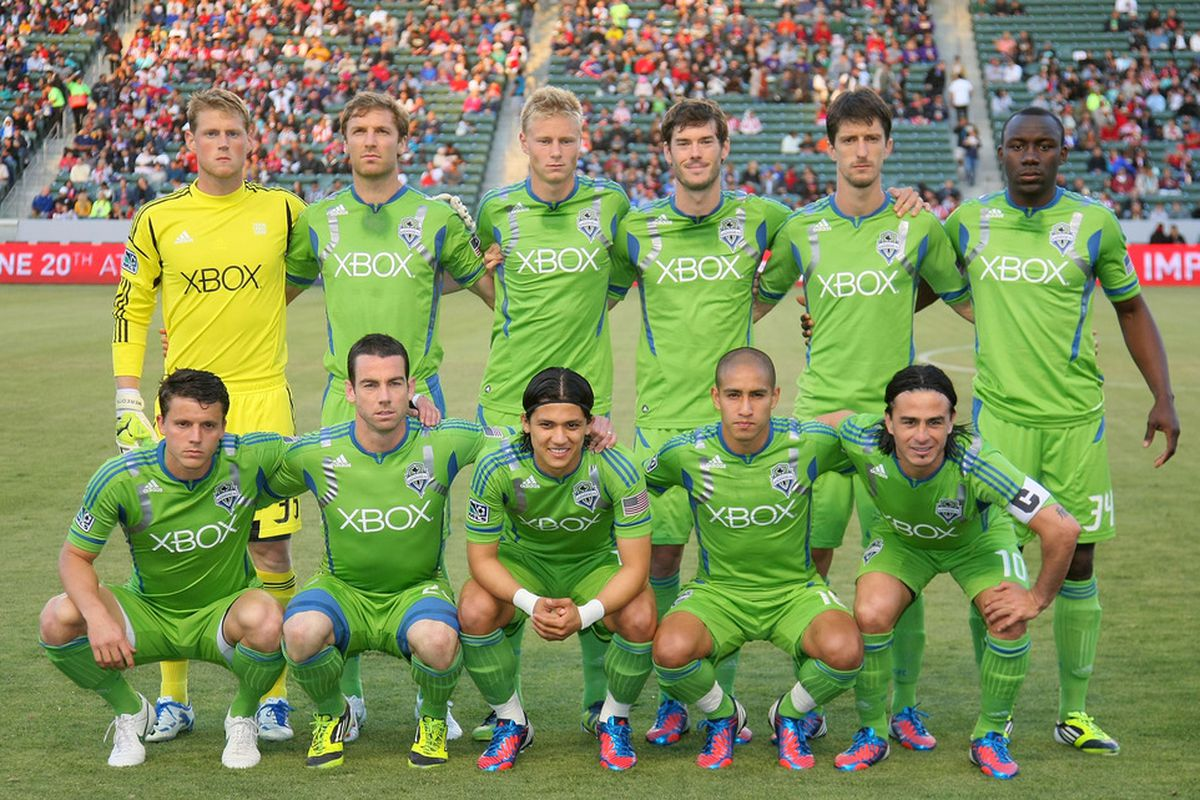 Ten of eleven regulars started in Seattle's last MLS game. There will be even more variety in the weeks to come.  (Photo by Victor Decolongon/Getty Images)