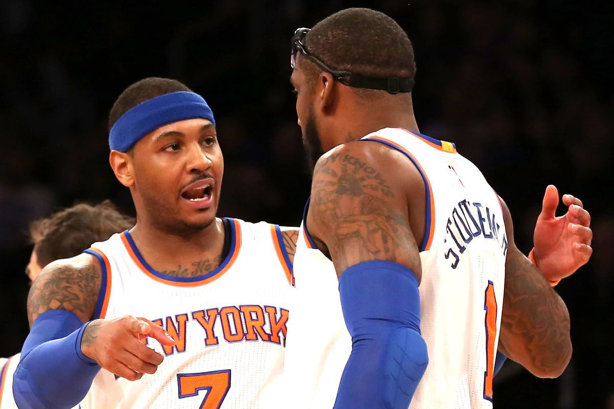Amar e Stoudemire said what everyone knew about Carmelo Anthony being  jealous of Jeremy Lin 7af62c4e1