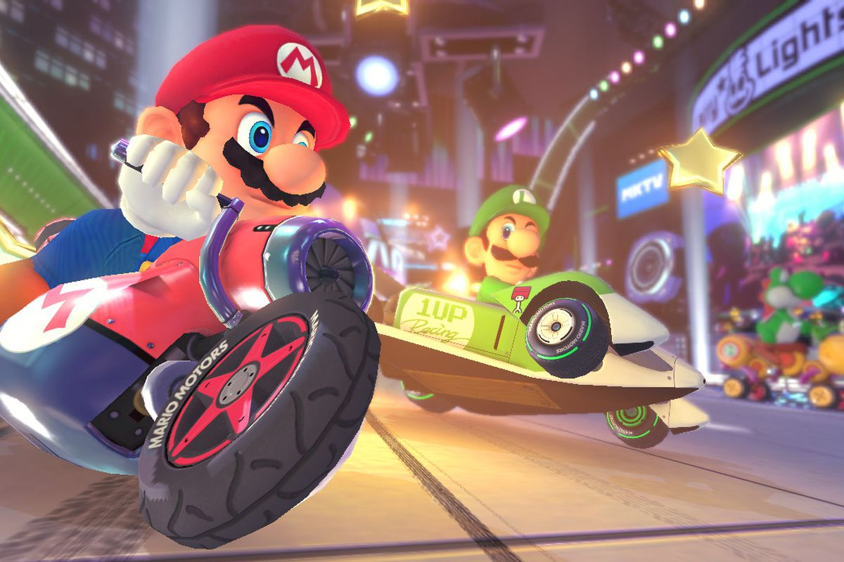 mario kart 8 Mario Kart 8 Deluxe sets record as fastest selling game in the