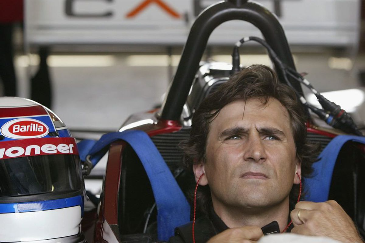 In 2003, Alex Zanardi returned to the cockpit to finish the final 13 laps of The American Memorial at Eurospeedway Lausitz, the site of the massive crash that resulted in the loss of both of his legs. (Photo: AlexZanardi.com)