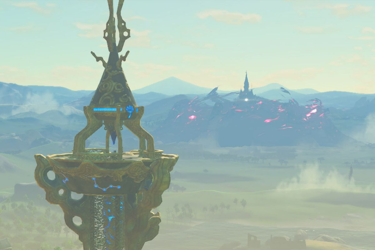 Climbing Towers In Breath Of The Wild Is Way More Stylish With This Trick Polygon