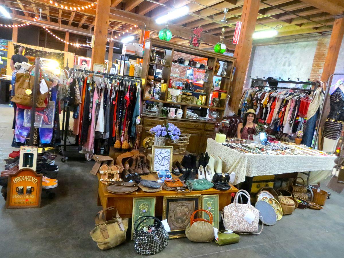 La S Best Vintage Stores And Flea Markets Racked La