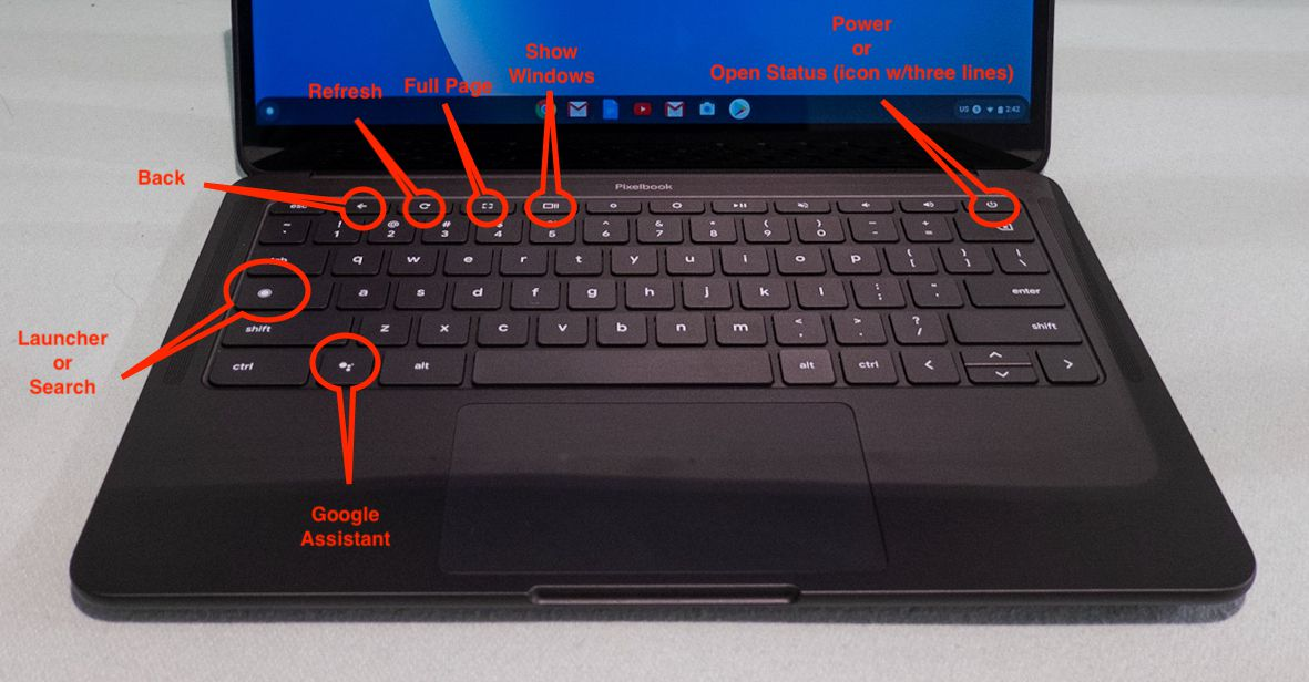 Chromebook 101 What S Different About The Chromebook Keyboard The Verge