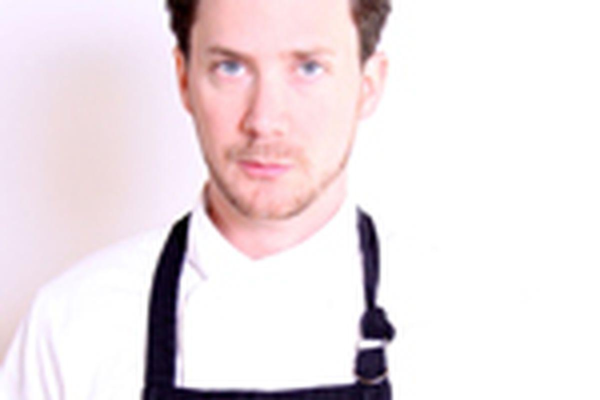 The Optimist Executive Chef Adam Evans