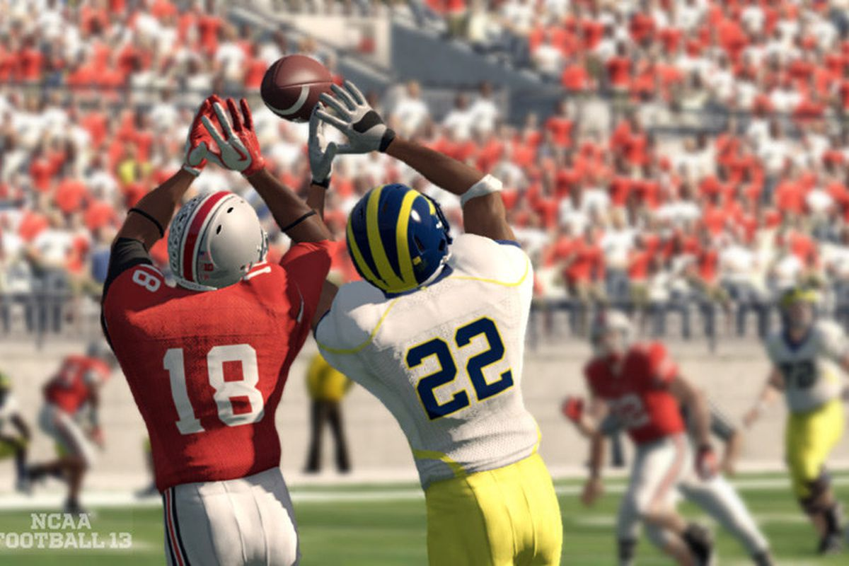 Why isn't Tyrone Williams lording over Jarrod Wilson? (Promotional Photo Courtesy of EA Sports)