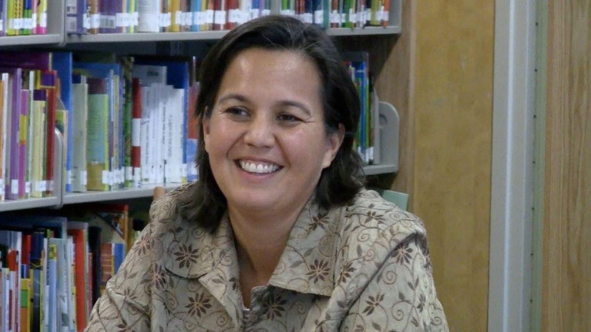 Lori Nazareno, co-lead teacher at Denver's Math and Science Leadership Academy