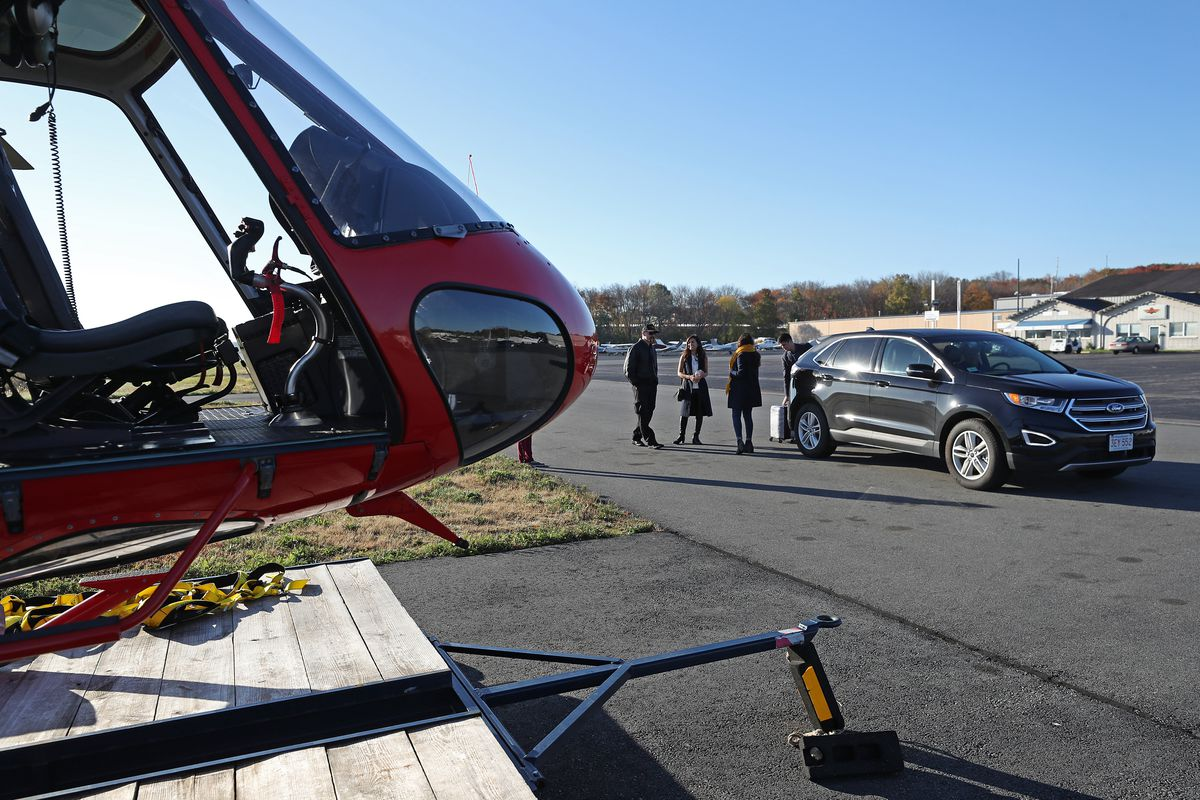 Doors-Off Helicopter Tours Of Boston