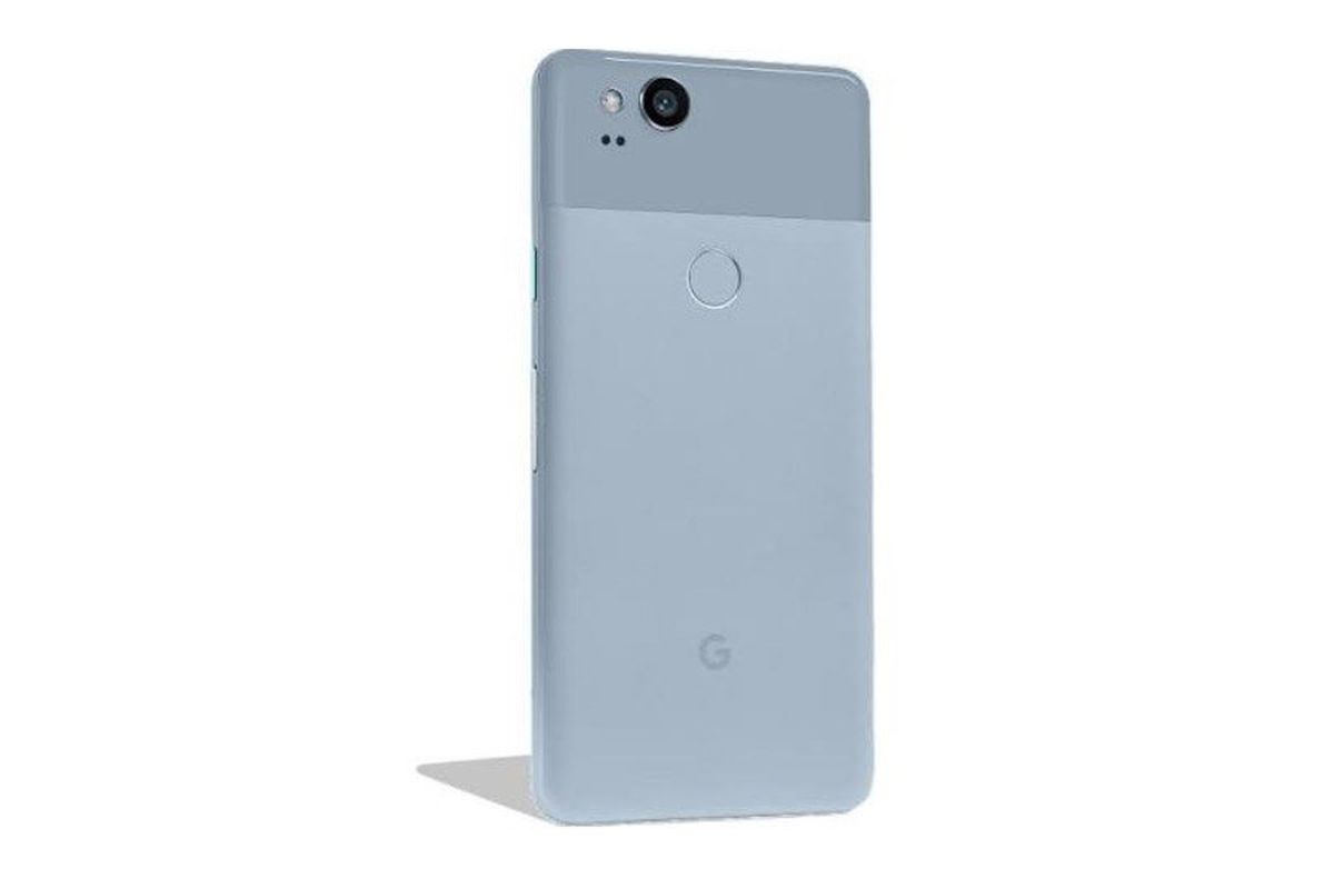 the pixel 2 in kinda blue is now available unlocked from the google