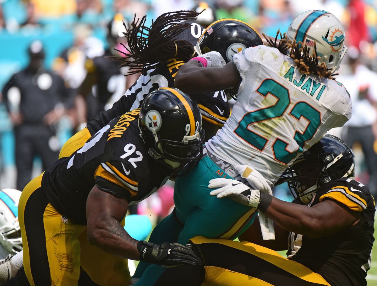 Pittsburgh Steelers vs. Miami Dolphins
