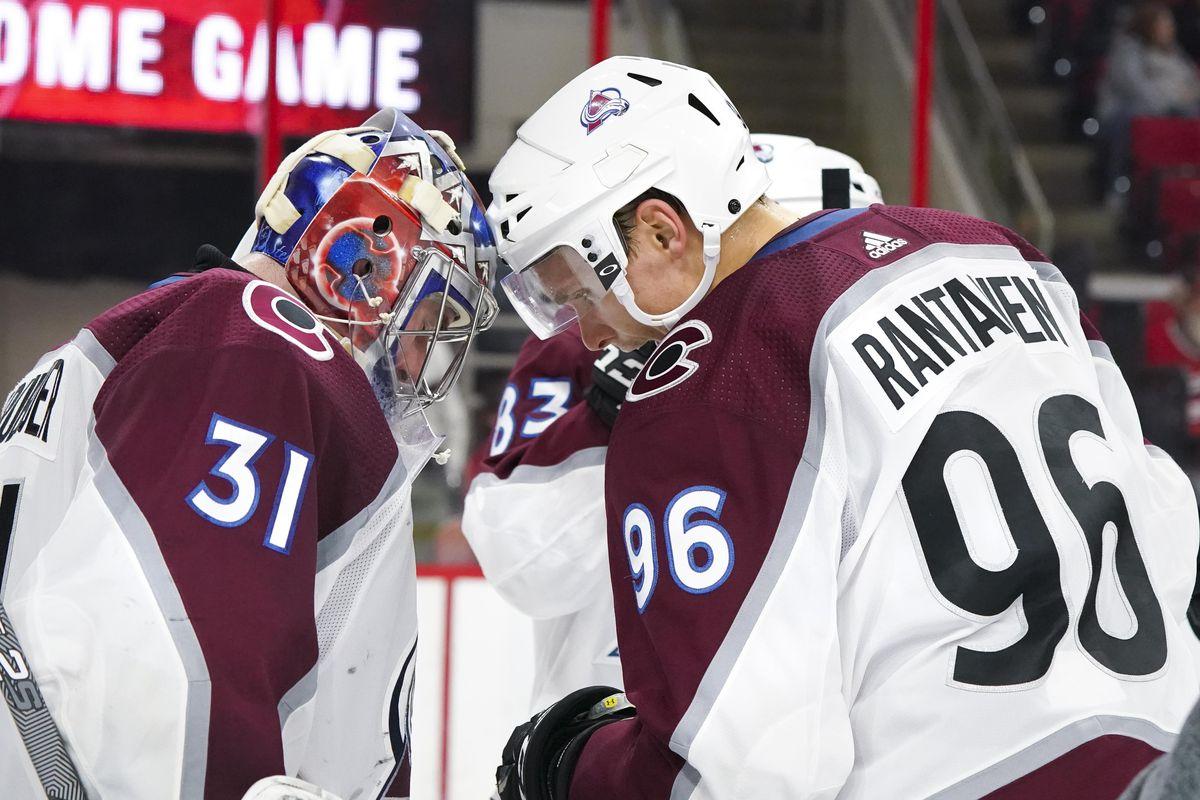 NHL: Colorado Avalanche at Carolina Hurricanes