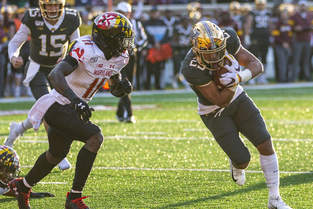 NCAA Football: Maryland at Minnesota