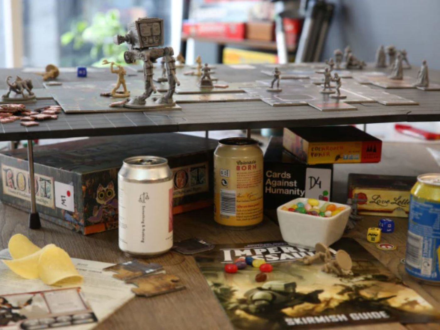 New Type Of Board Gaming Table Has Raised More Than 1m On Kickstarter Polygon