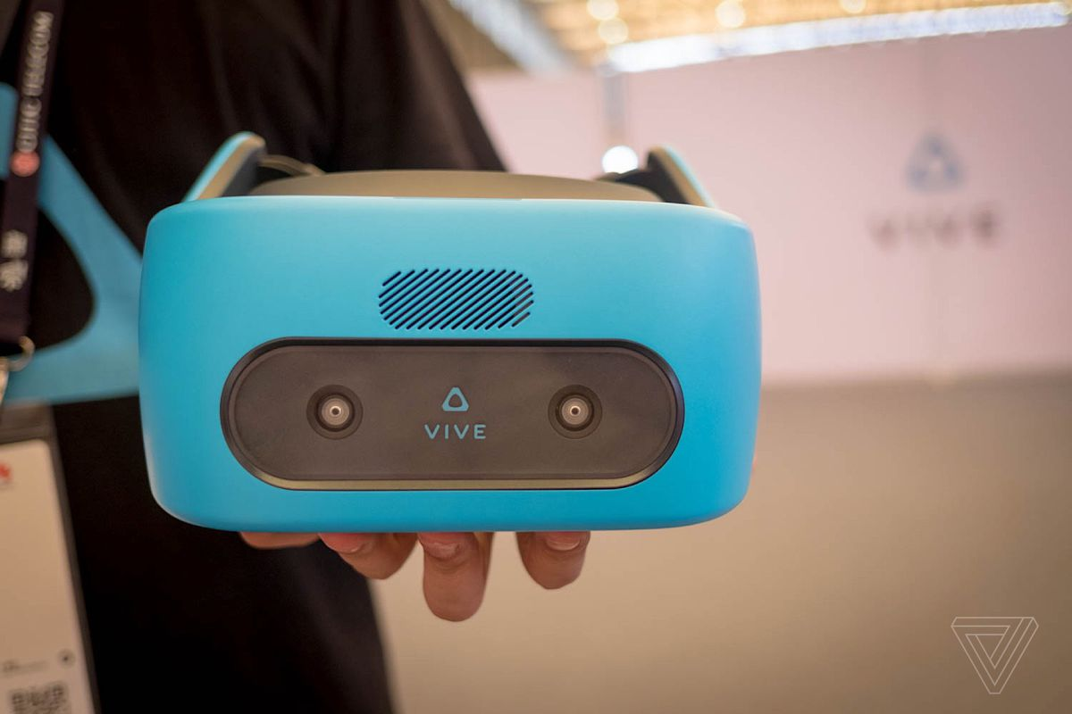 52bb2cff1ed HTC Vive Focus hands-on  an impressive standalone VR headset - The Verge
