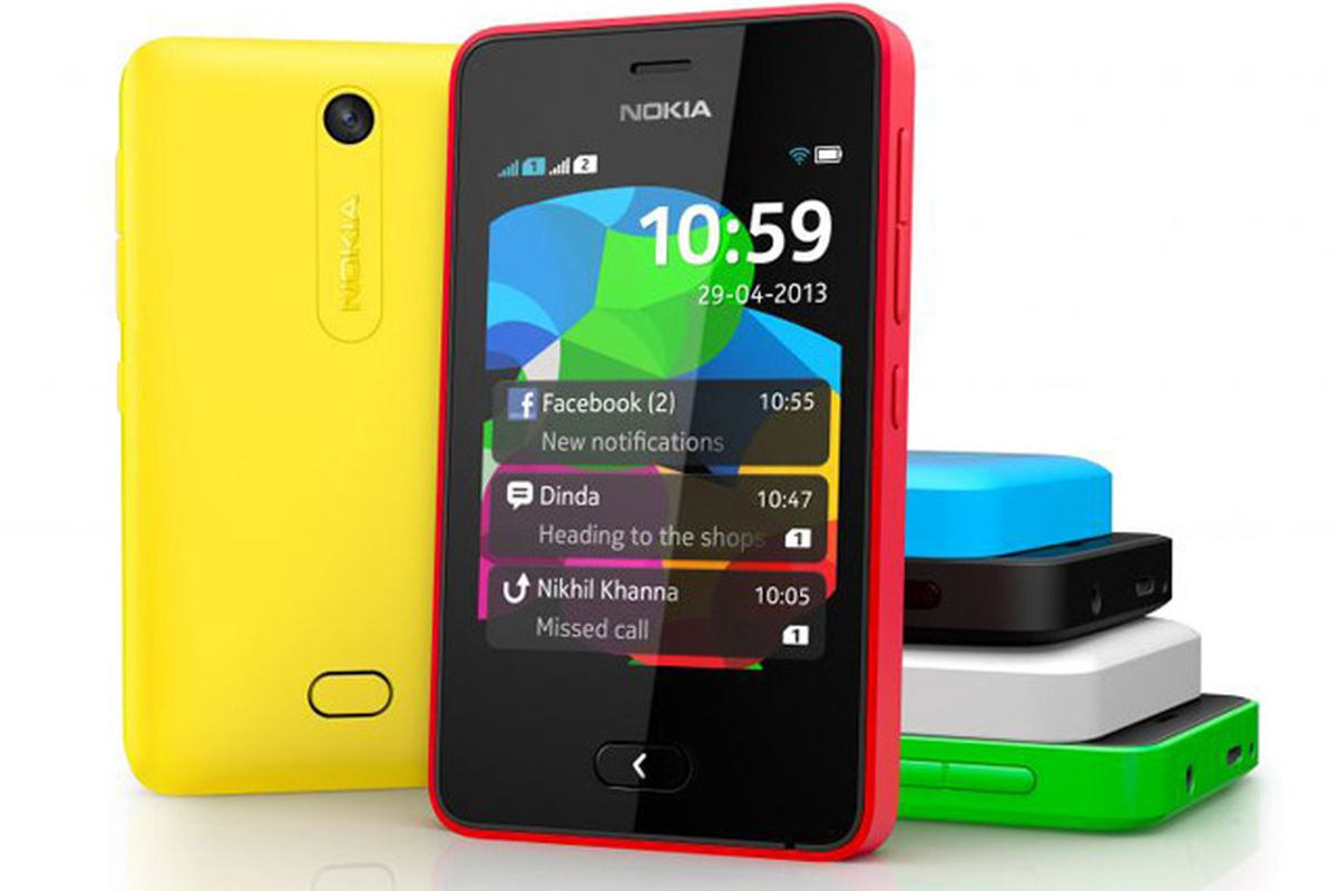 Nokia hedges its commitment to Windows Phone with new Asha