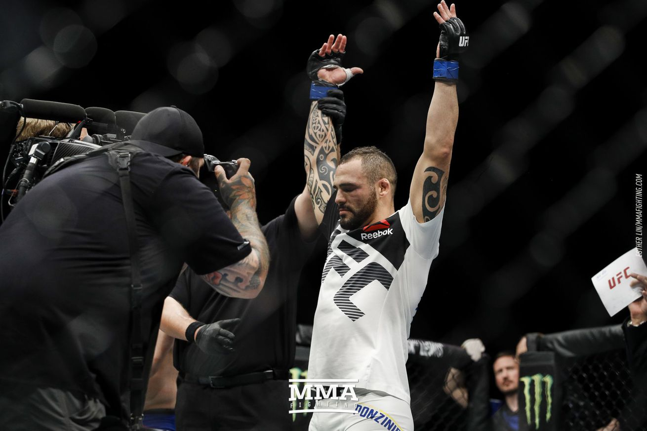 community news, UFC Fight Night 113 in Tweets: Pros react to Santiago Ponzinibbio's KO win over Gunnar Nelson, more