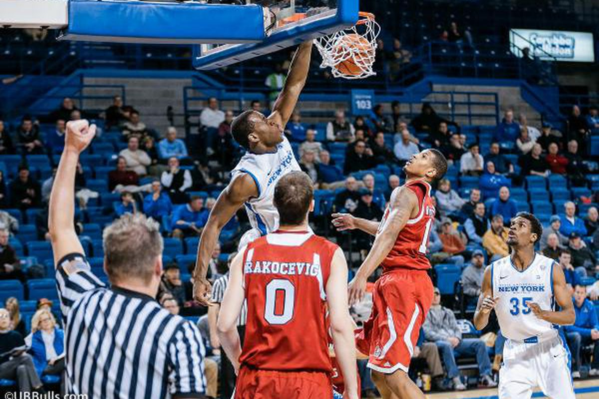 Javon McCrea recorded his sixth double-double of the season with 10 points and 11 rebounds.  He also added five assists