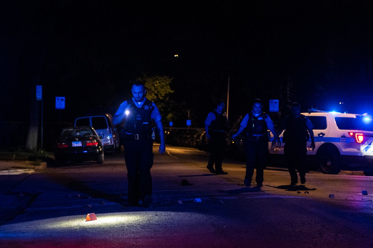 A man was killed and another was wounded in a shooting in Humboldt Park.