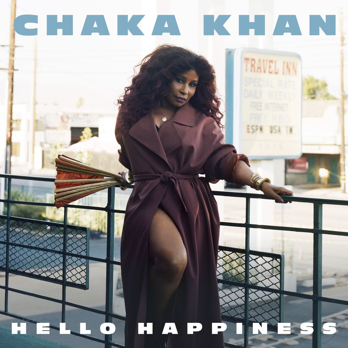 """""""Hello Happiness,"""" the latest release by Chaka Khan. 