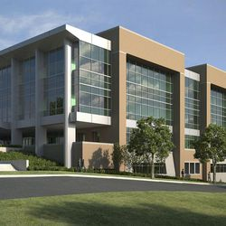 An artist's rendering of the new engineering building at BYU in Provo, Monday, 9, 2016.