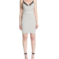 Not ready to hop on the bustier bandwagon? This versatile dress lends a similar look (and the price is right, too).