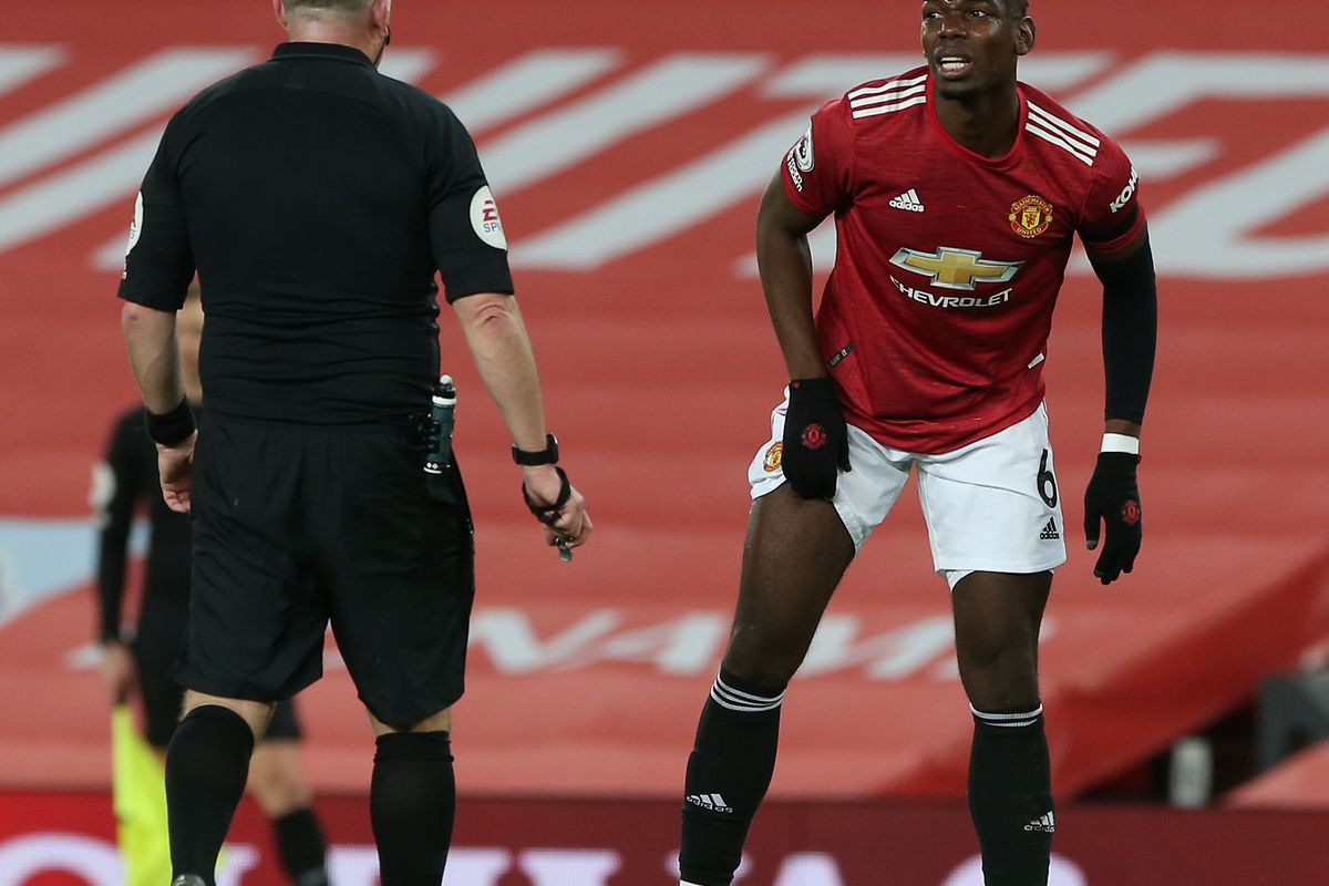 Image result for Manchester United midfielder Paul Pogba out for 'a few weeks' with thigh injury