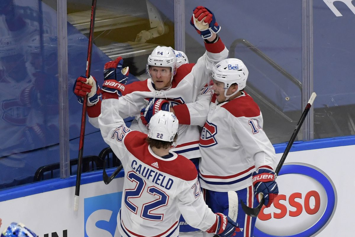NHL: Stanley Cup Playoffs-Montreal Canadiens at Toronto Maple Leafs