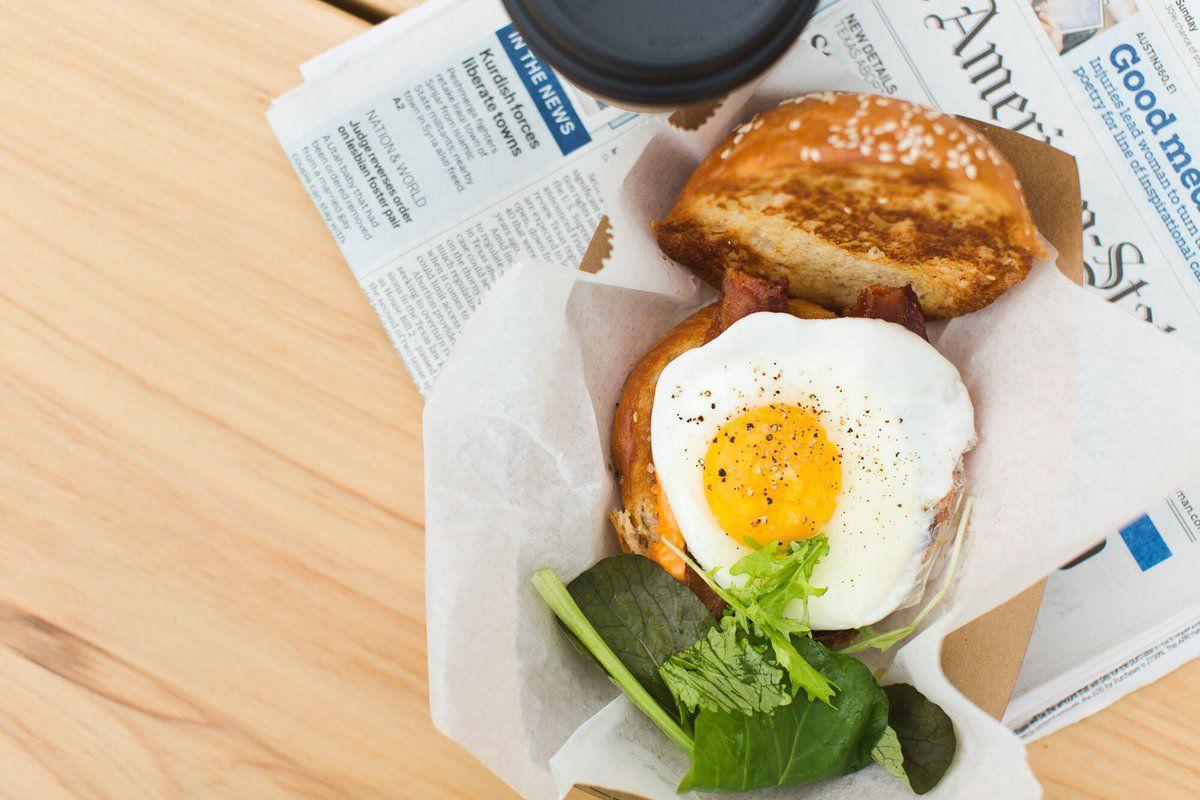 Paperboy's breakfast sandwich