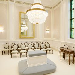 The sealing room in the Winnipeg Manitoba Temple.