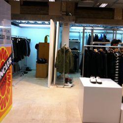 Second floor Moncler shop