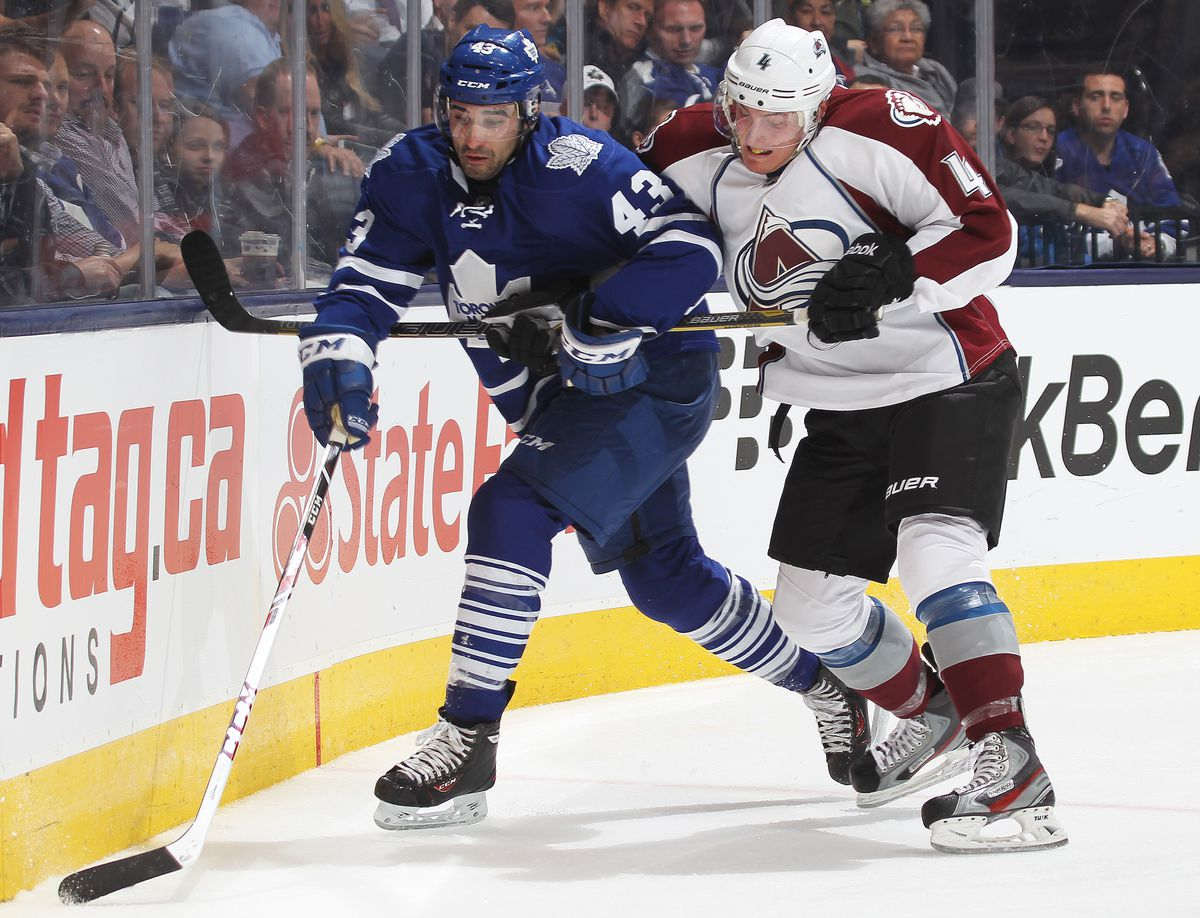 Colorado Avalanche v Toronto Maple Leafs
