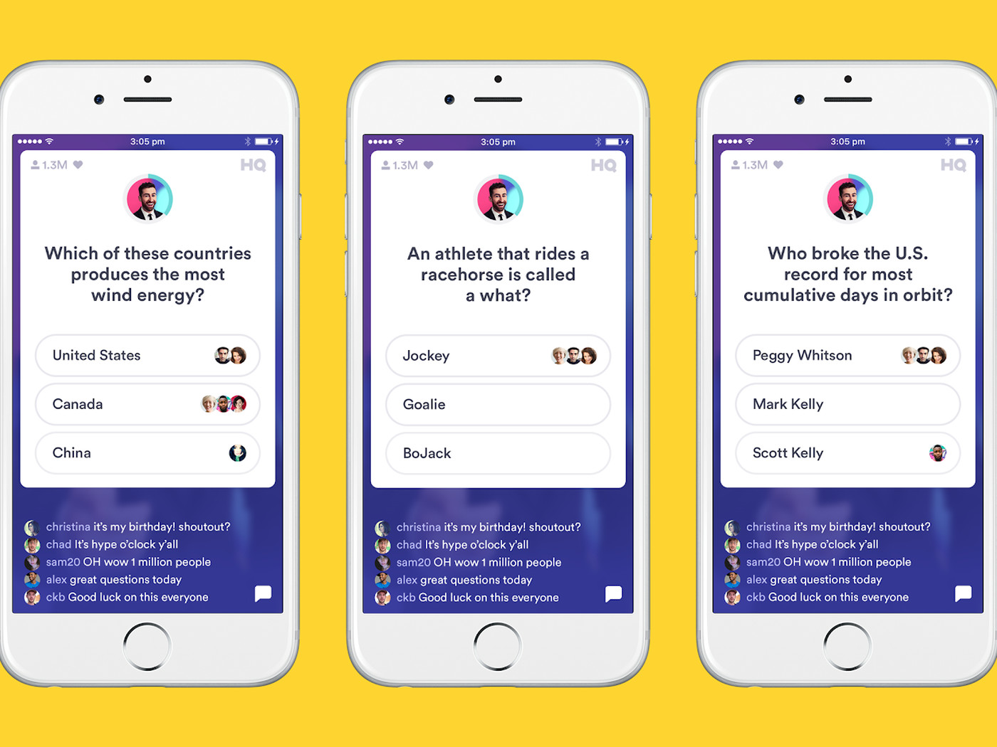 HQ Trivia will soon let you see your friends' answers to questions