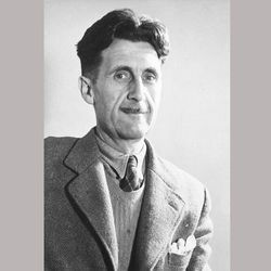 """This undated image shows George Orwell, author of """"1984."""""""