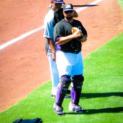 Just Manny and Wilin on the field