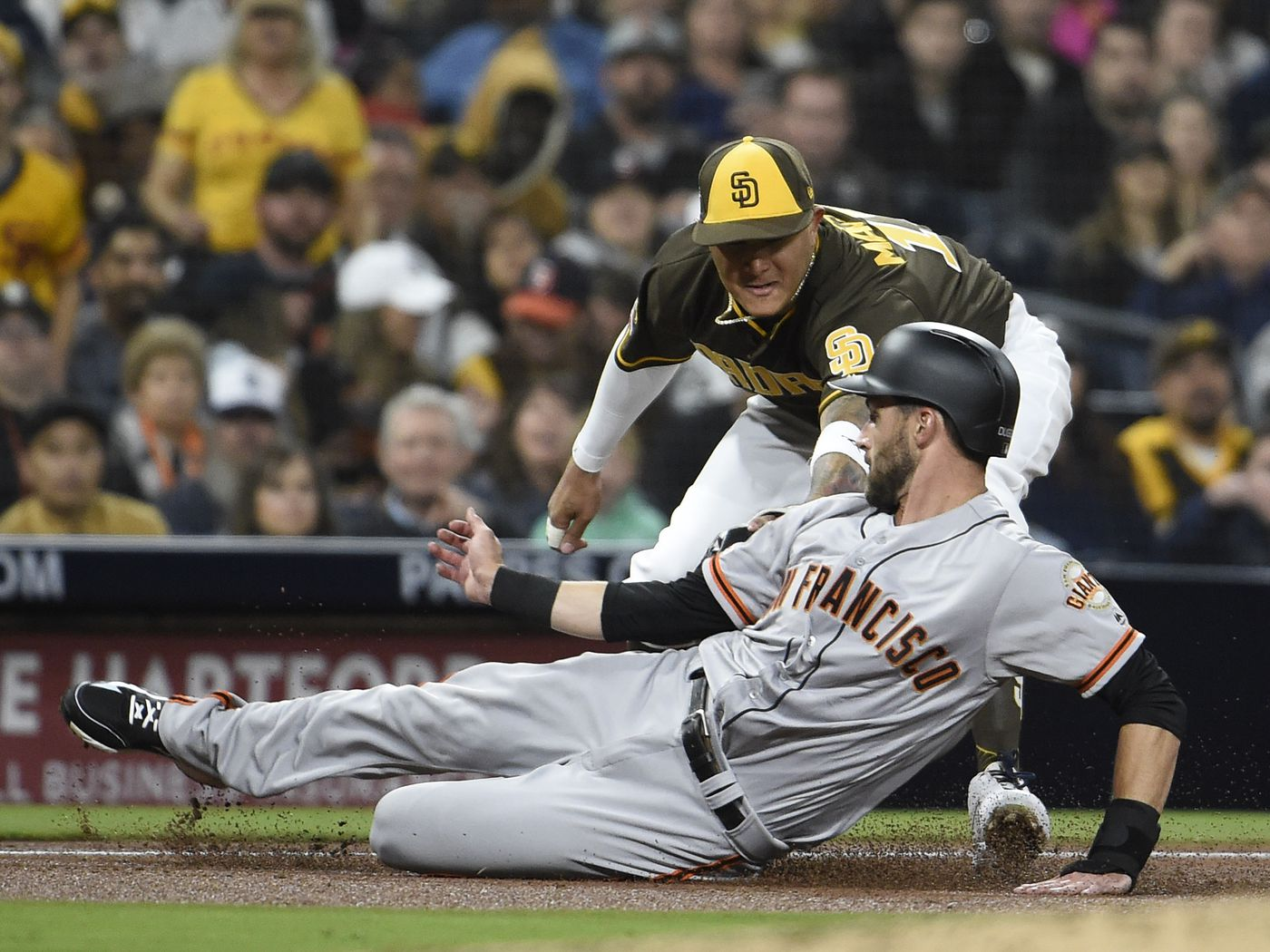 Giants avoid setting a franchise record in 4-1 loss to Padres ...