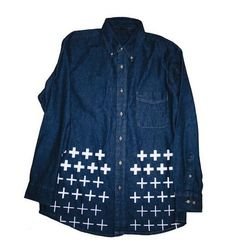 """The CV <a href=""""http://couturevulture.bigcartel.com/product/chambray"""">Chambray Shirt</a> ($46) is Negron's favorite Couture Vulture piece. """"I envisioned it in my head, then made it, and I was pleased with the outcome."""""""