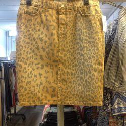 Current/Elliot denim skirt, $35