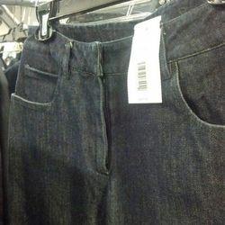 Sample jeans, originally $200, now $60