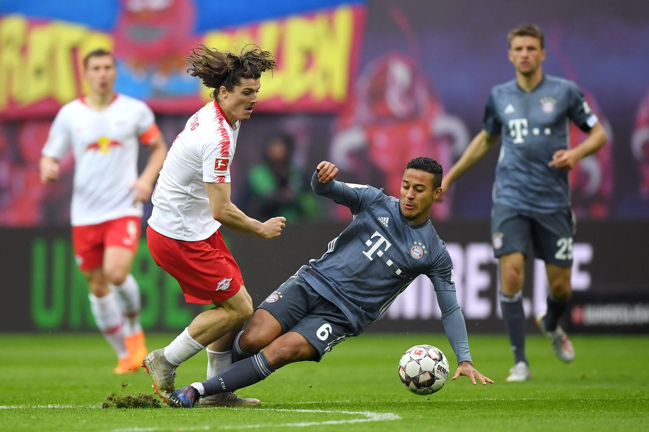 Injury update: Thiago and James are cleared for action; Javi Martinez and Manuel Neuer continue to grind