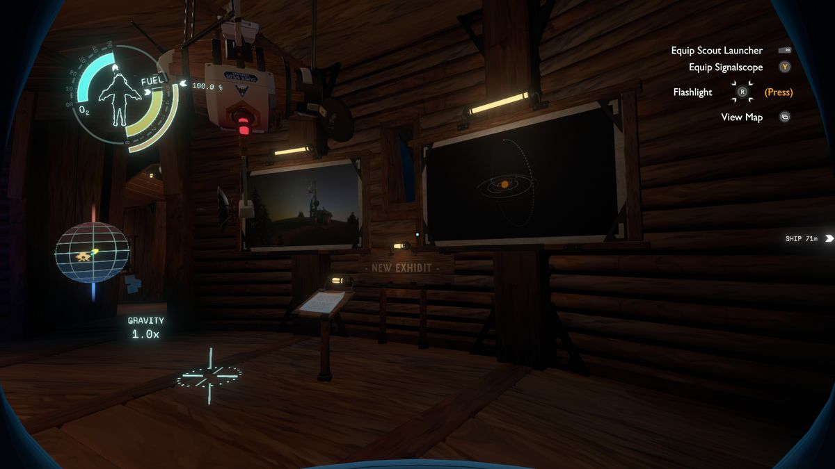 Outer Wilds Echoes of the Eye Museum's New Exhibit